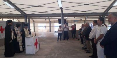 Εγκαίνια σκαφών του Ελληνικού Ερυθρού Σταυρού στο λιμάνι Ηρακλείου