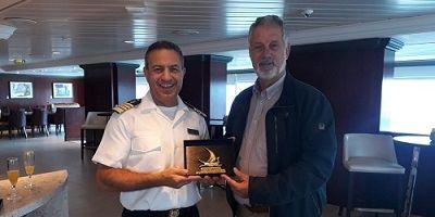 Maiden call για το κρουαζιερόπλοιο Azamara Pursuit στο λιμάνι του Ηρακλείου
